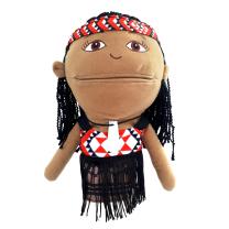 Hand Puppet - Maori Girl
