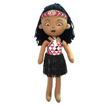 Girl Soft Maori Doll