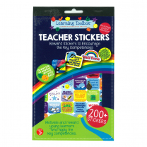 Key Competency Teacher Sticker Pad