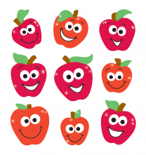 Sparkly Apples Stickers
