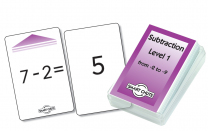Subtraction Level 1 Smart Chute Cards