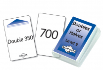 Double or Halves Level 2 Smart Chute Cards