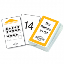 Ten Frames to 50 Smart Chute Cards