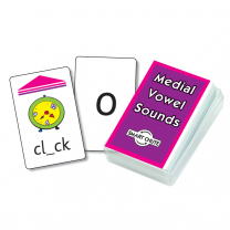 Medial Vowel Sounds Smart Chute Cards