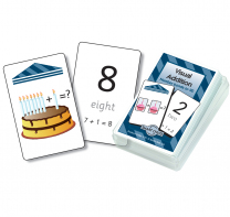 Visual Addition Smart Chute Cards