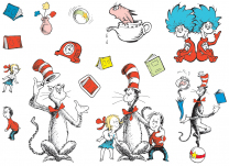 Cat in the Hat Characters Display Set