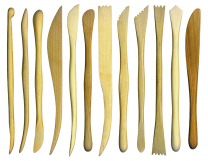 Clay Modelling Tools - Wooden Set