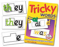 Tricky Words Magnetic Strips
