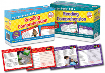 Reading Comprehension Cards - Pack 1