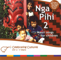 Nga Pihi 2 - Maori Songs for Children Book