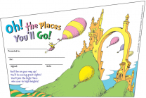 Oh! The places You'll Go! Award