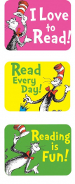 Cat in the Hat Reading Stickers