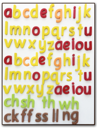Smart Phonics Magnetic Letters - Pack 1