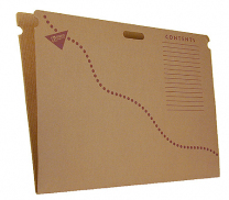 Chart and Bulletin Board Storage Box Folder