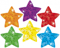 Super Stars Sparkle Stickers