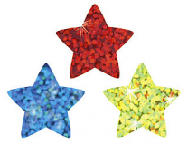 Colourful Sparkle Stars