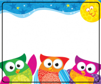 Owl-Stars Name Tags