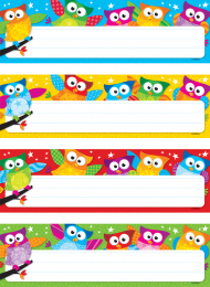 Owl-Stars Variety Classroom Labels