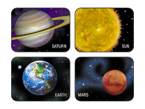 Planets and Sun Stickers