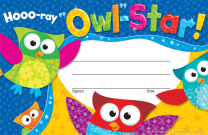 Hooray Owl-Stars Award