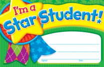 I'm a Star Student Certificates