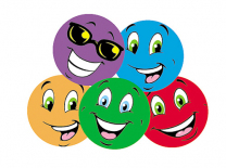 Colourful Smiles Stinky Stickers (Tutti-Frutti)
