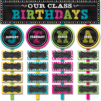 Our Class Birthdays Mini Bulletin Board