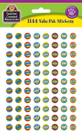 Superhero Spot Stickers Variety Pack