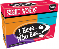 I Have Who Has Sight Words Game Level 1