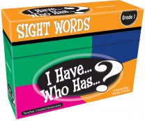 I Have Who Has Sight Words Game Level 2