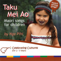 Taku Mei Ao - Maori Songs for Children Book