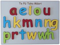 Maori Alphabet Puzzle
