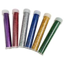 Coloured Glitter - 6 pack