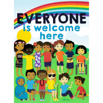 Everyone is Welcome NZ Poster