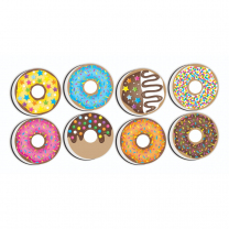 Donut Whiteboard Erasers - Pack of 8