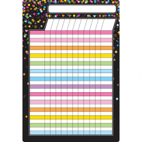 Confetti Incentive Write and Wipe Chart