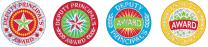 Deputy Principal's Glitz Stickers