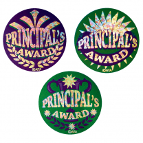 Principal's Coloured Stickers-large