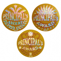 Principal's Gold Stickers Large