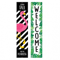Welcome  / Stand Tall Paradise Banner