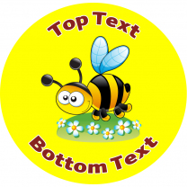 Bumble Bee Personalised Stickers