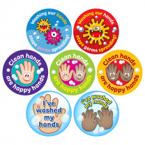 Hand Washing Reward Stickers