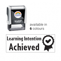 Learning Intention Achieved Stamp