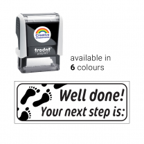 Well done! Your next step is Footprints Stamp