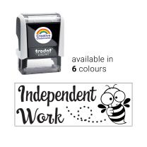 Independent Work Bee Stamp