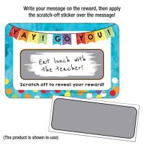 Yay! Go You!  Scratch Off Award
