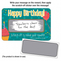 Happy Birthday! Scratch Off Award