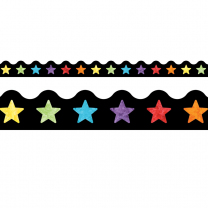 Watercolour Stars Trimmer