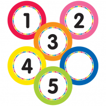 Numbers Magnetic Accents