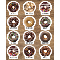 Donut Reward Stickers